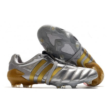 Adidas Predator 20+ Mutator Mania Tormentor FG Silver Golden