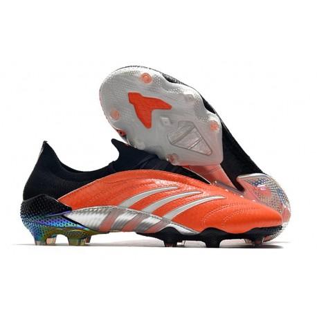 Adidas Predator Archive Limited Edition FG Boots Orange Black Silver