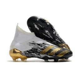 New Adidas Predator Mutator 20+ FG Inflight -White Gold Metallic Black