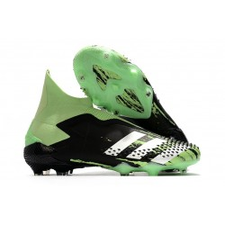 New Adidas Predator Mutator 20+ FG Black Green White
