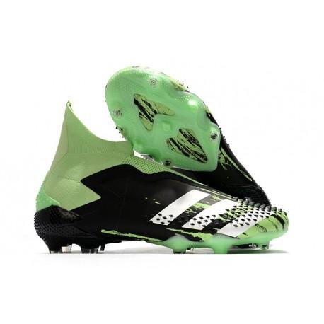 New Adidas Predator Mutator 20+ FG Black Green White