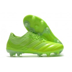 Adidas Copa 20.1 FG Soccer Cleat Signal Green White