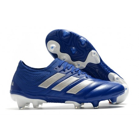 Adidas Copa 20.1 FG Soccer Cleat Team Royal Blue Silver Metallic