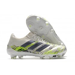 Adidas Copa 20.1 FG Soccer Cleat White Core Black Signal Green