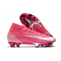 Nike Mercurial Superfly 7 Elite FG Mbappé Rosa -Pink Blast White Black