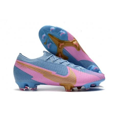 Nike 2020 Mercurial Vapor XIII Elite FG - Blue Pink Golden