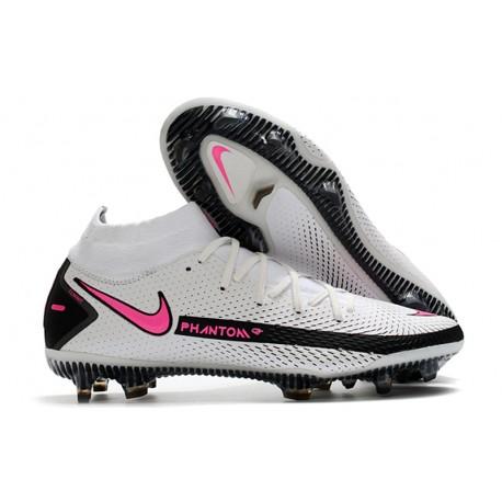 Nike Phantom GT Elite Dynamic Fit FG Firm-Ground White Pink Black