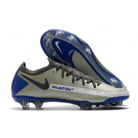 Nike Phantom GT Elite FG New Boots Gray Blue Black