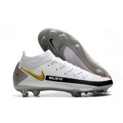 Nike Phantom GT Elite Dynamic Fit FG Firm-Ground White Black Red
