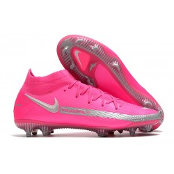 Nike Phantom GT Elite Dynamic Fit FG Firm-Ground Pink Blast Silver