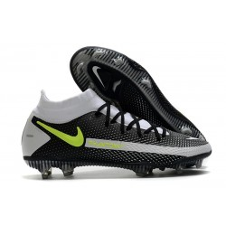 New Nike Phantom Generative Texture GT Elite FG Black Gray Volt