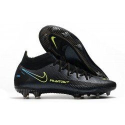 Nike Phantom GT Elite Dynamic Fit FG Firm-Ground Black Volt Blue