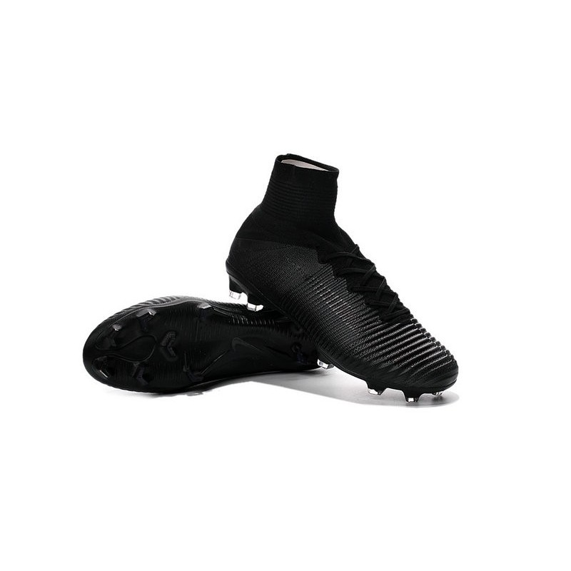 new styles 257b1 dbeca Top Nike Mercurial Superfly 5 FG ACC Football Boots - Full Black