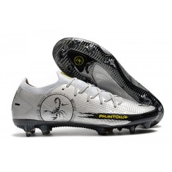 Nike Phantom GT Elite FG New Boots PHANTOM SCORPION Silver Black