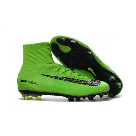 save off 27b9d 78bec Top Nike Mercurial Superfly 5 FG ACC Football Boots Green Black