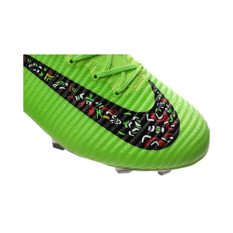 daa0a9366 Top Nike Mercurial Superfly 5 FG ACC Football Boots Green Black